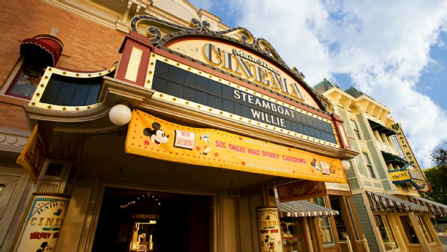 Disneyland - Main Street Cinema