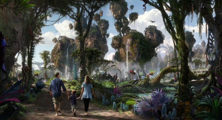 Avatar Land Construction Underway At Disney World