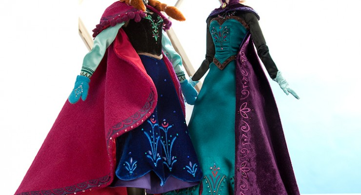 Limited Edition 'Frozen' Anna and Elsa Dolls Coming Soon