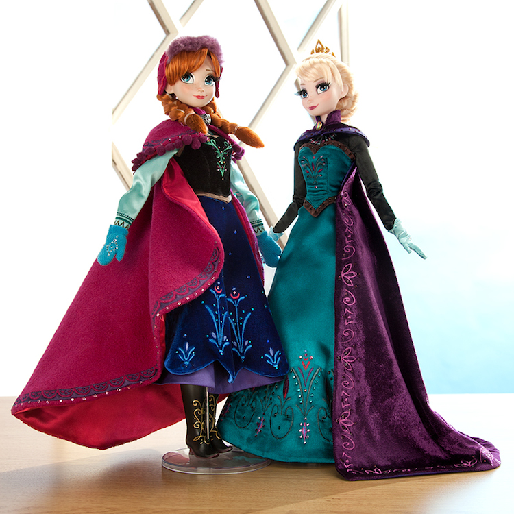 Frozen Anna and Elsa Dolls