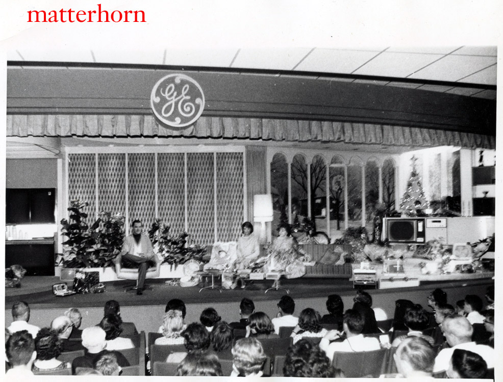 Photo of Carousel of Progress from the World's Fair. (Source: Matterhorn 1959)