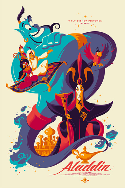Aladdin Mondo Poster