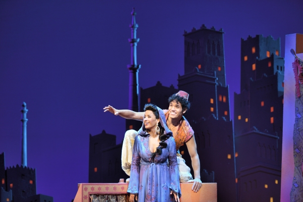 Aladdin Musical - Aladdin and Jasmine
