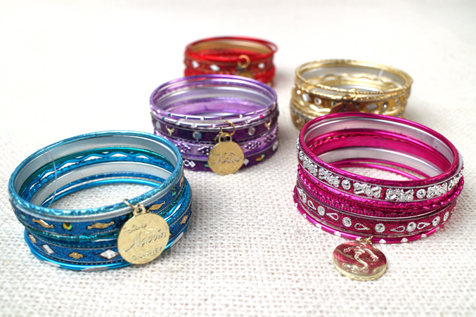 Aladdin Musical Merch - Bangles