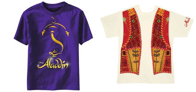 Aladdin Musical Merch - Shirts