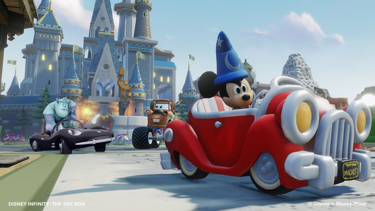 Disney Infinity Sorcerer Mickey - Toy Box 2