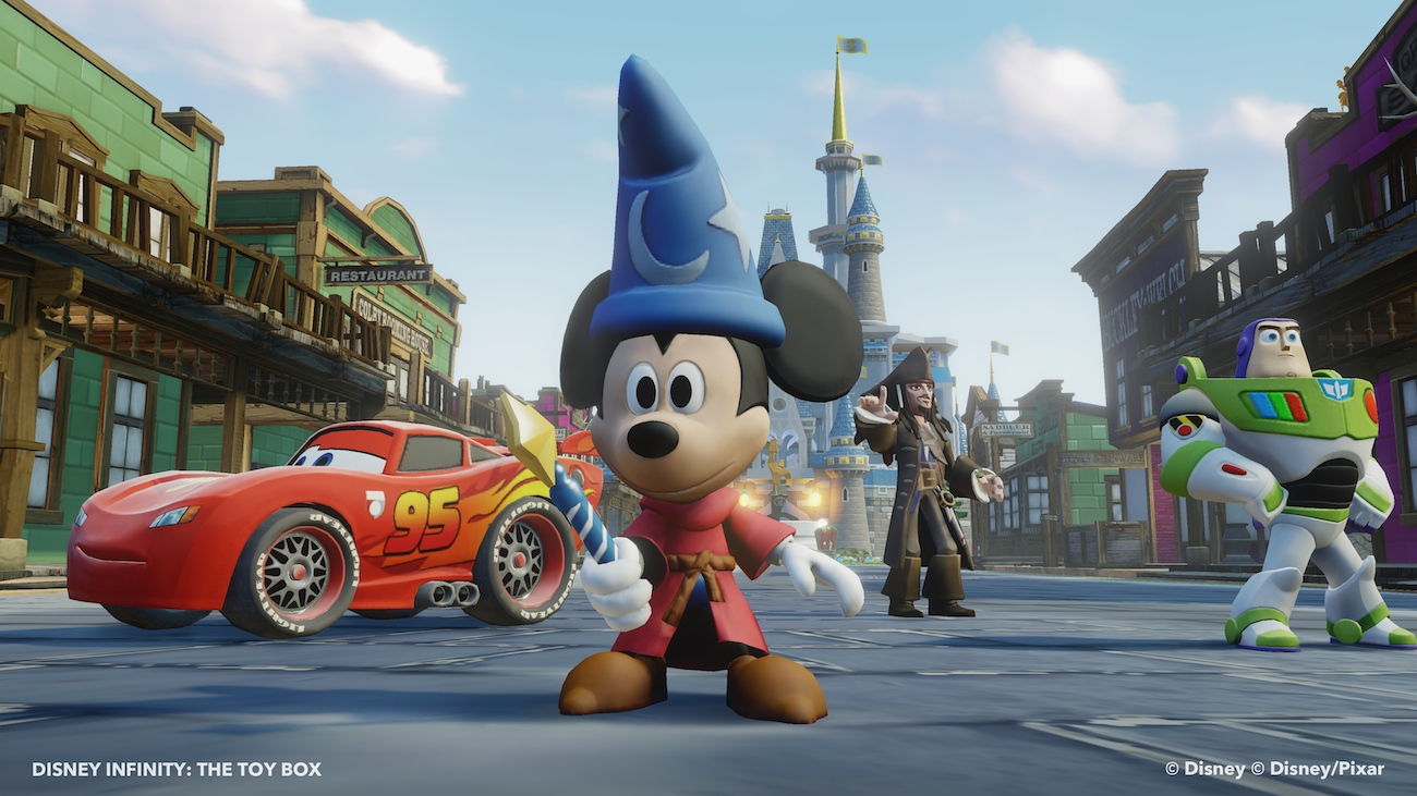 Disney Infinity Sorcerer Mickey - Toy Box 3