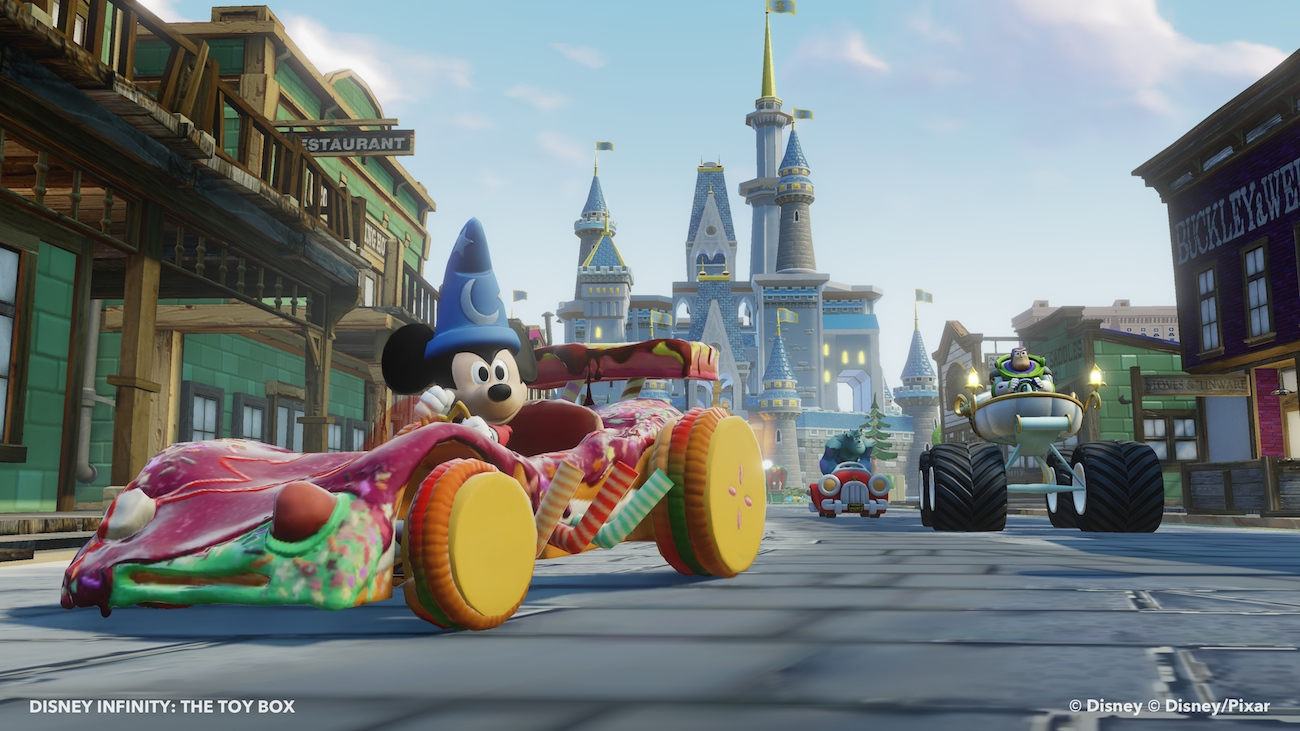 Disney Infinity Sorcerer Mickey - Toy Box 4