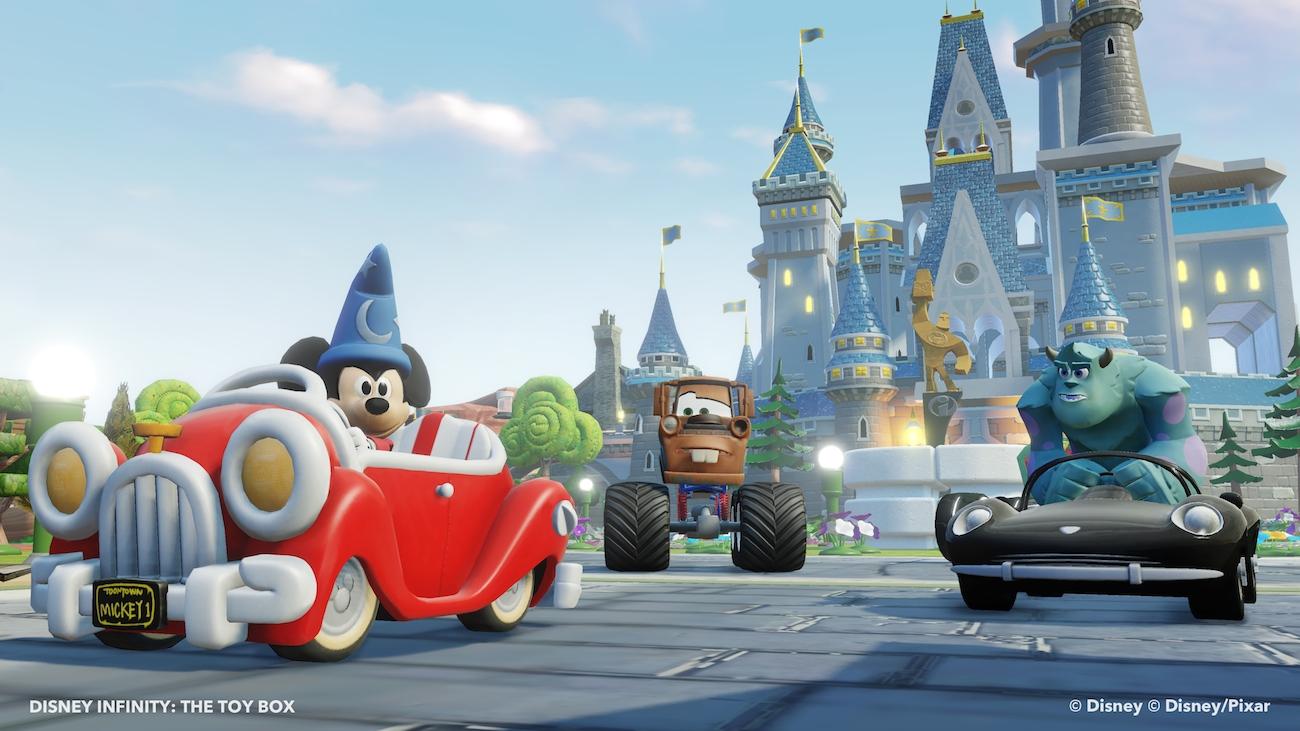 Disney Infinity Sorcerer Mickey - Toy Box 6