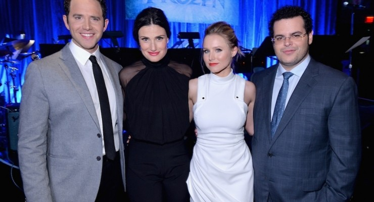Watch 'Frozen' Cast, Including Idina Menzel and Kristen Bell, Sing Live