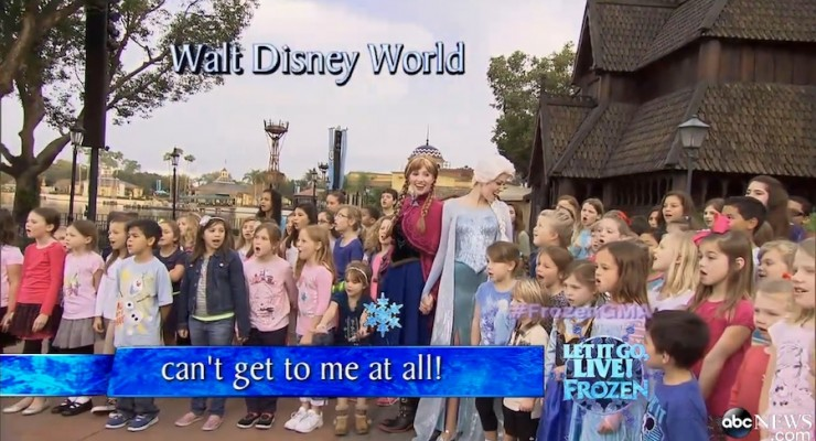 Watch The World's Biggest 'Frozen' Sing-Along
