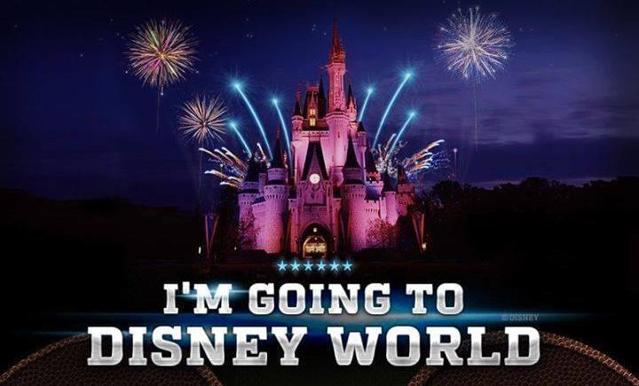I'm Going To Disney World