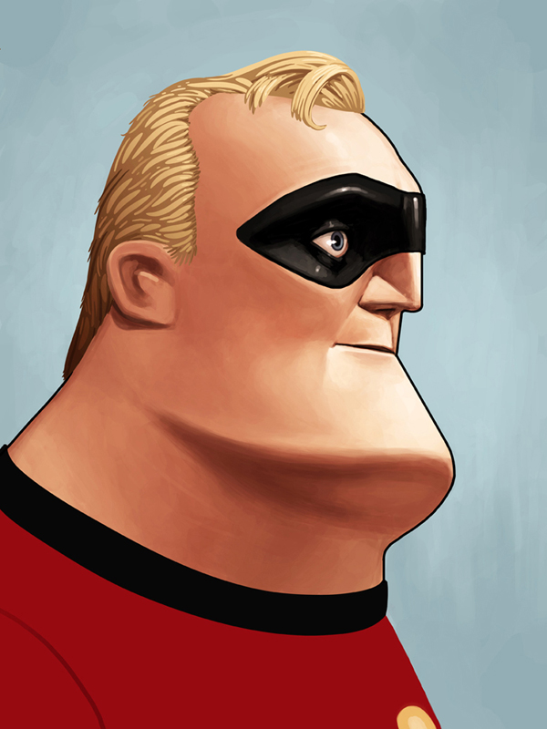 Mr. Incredible Mondo Poster