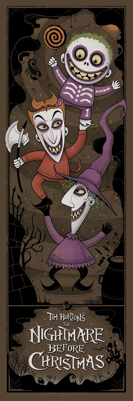 Nightmare Before Chrismtas Mondo Poster