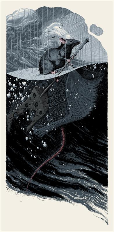 Ratatouille Mondo Poster