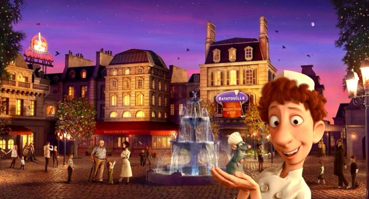 Disneyland Paris Is Building An Entire Plaza For The 'Ratatouille' Ride And It Looks Amazing