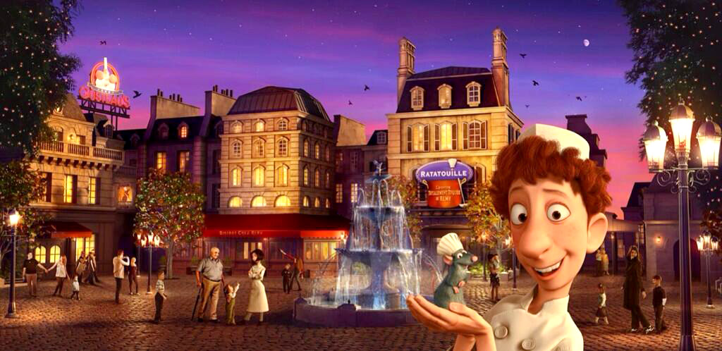 Ratatouille Ride - La Place De Remy
