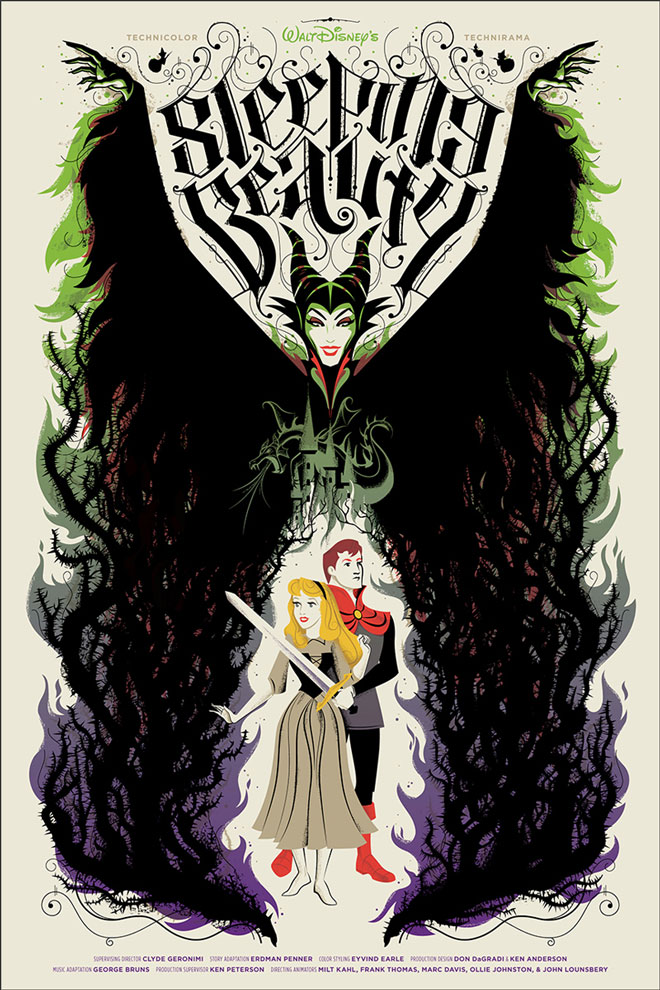 Sleeping Beauty Mondo Poster