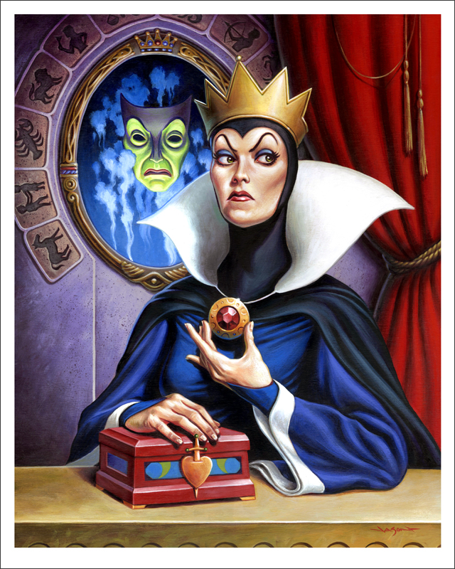 Snow White Evil Queen Mondo Poster