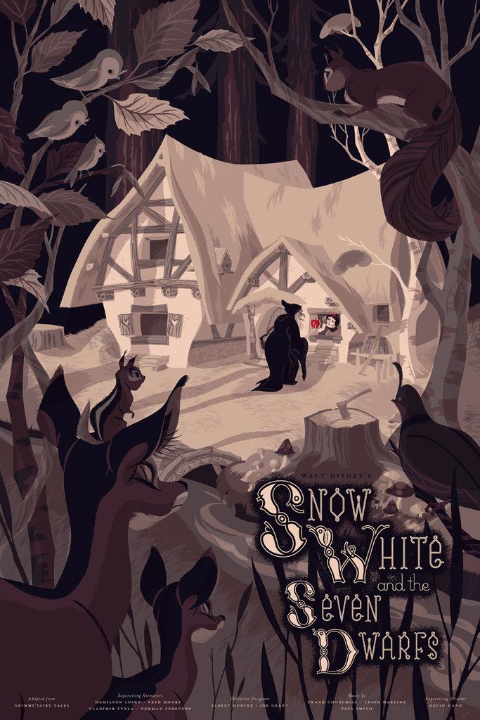 Snow White Mondo Poster
