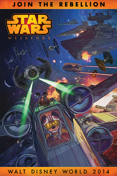 Star Wars Weekends - 2014 Poster