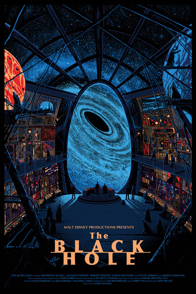 The Black Hole Mondo Poster