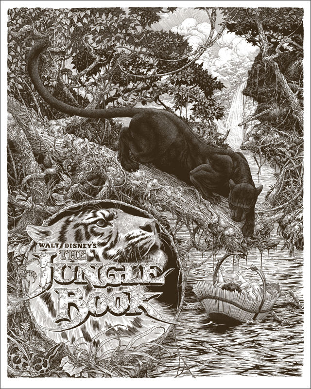 The Jungle Book Mondo Poster 2