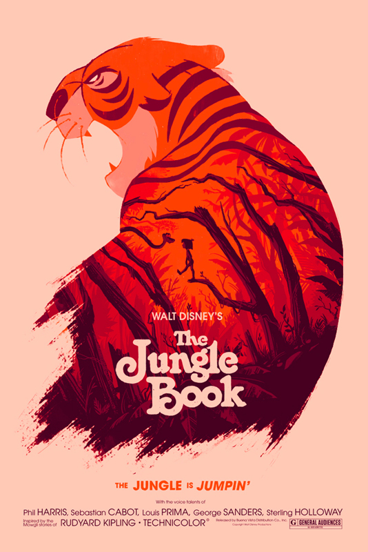 The Jungle Book Mondo Poster