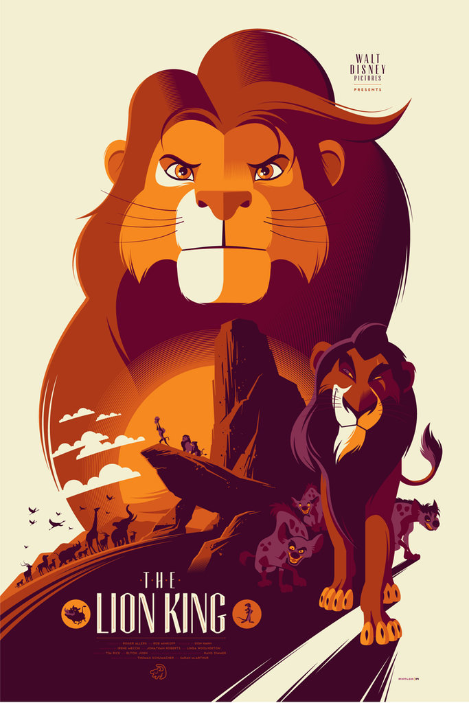 The Lion King Mondo Poster