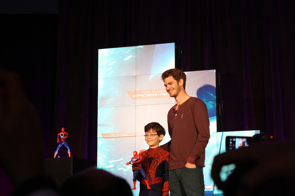 Toy Fair 2014 - Andrew Garfield