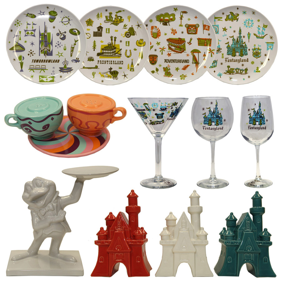 Disney Centerpiece - Plates and Ceramic Pieces