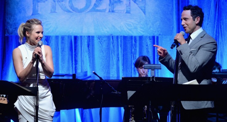 "Must-Watch: Frozen's Kristen Bell and Santino Fontana Sing ""Love Is An Open Door"" Live"