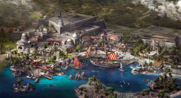 First Look At Treasure Cove, Shanghai Disneyland's Pirates-Themed Land