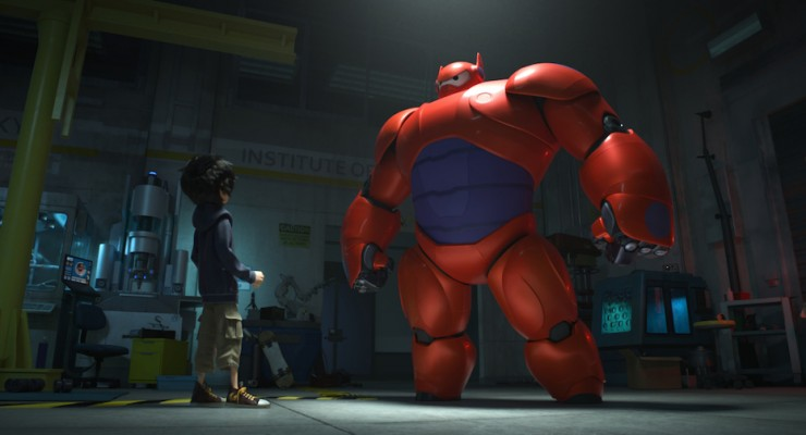 Watch The Teaser For Disney's First Marvel Animated Movie 'Big Hero 6'