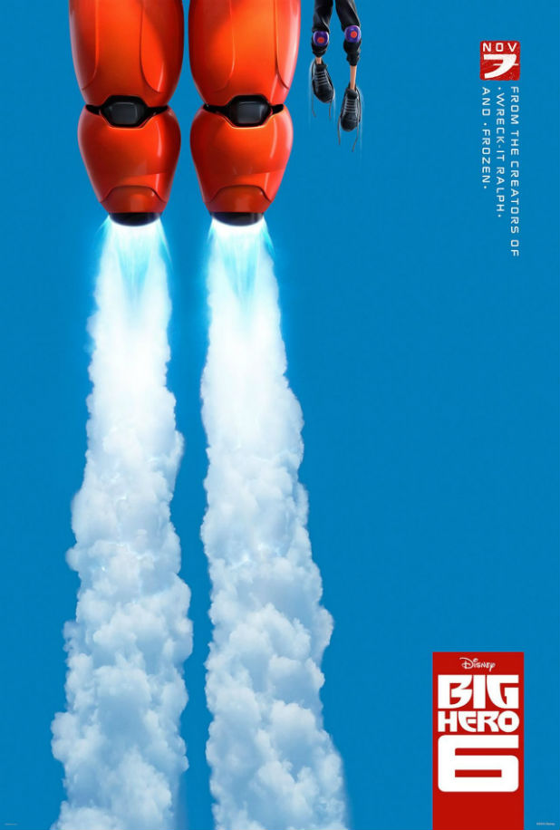 Big Hero 6 Teaser Poster