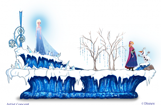 New 'Frozen' Parade Float Heading To Disneyland