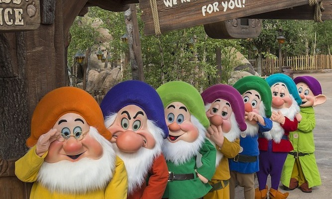 Seven Dwarfs Mine Train Grand Opening Attracts Large Crowds