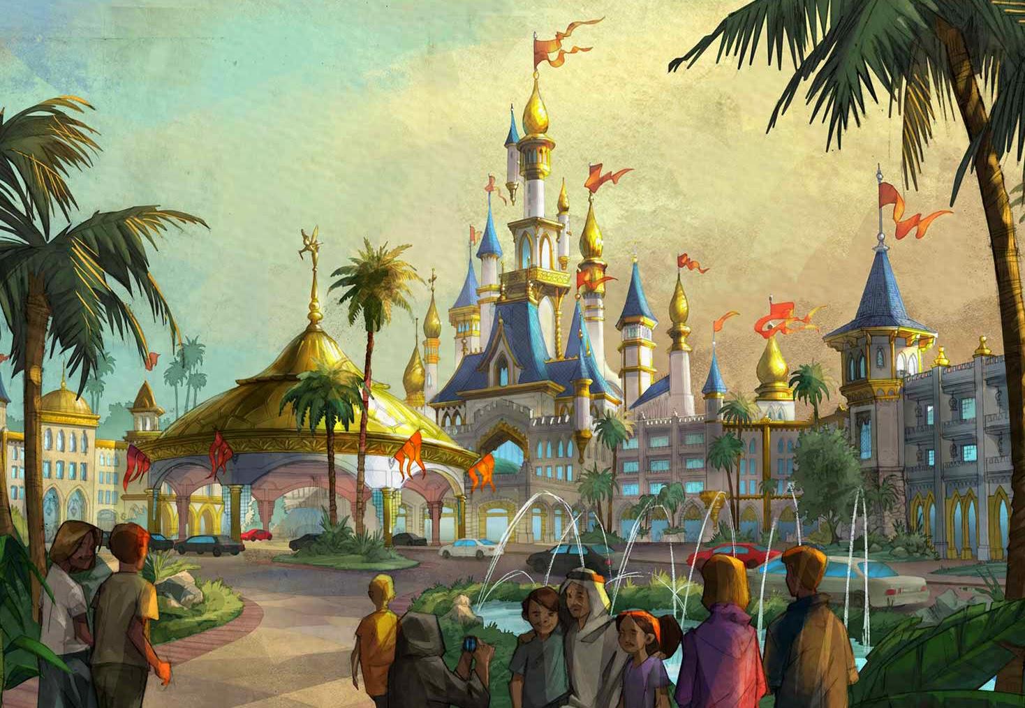 Dubai Disneyland - Castle