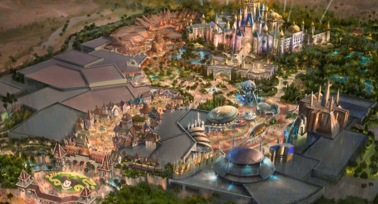 This Is What A Disneyland In Dubai Could Look Like
