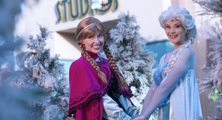 'Frozen' Takes Over Hollywood Studios With Entertainment And Fireworks