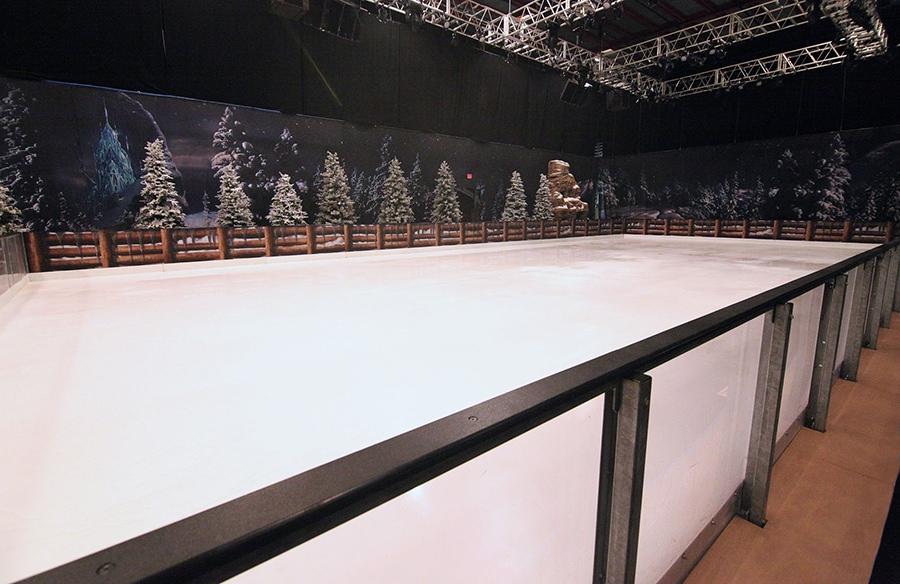 Frozen at Hollywood Studios - Ice Skating Rink