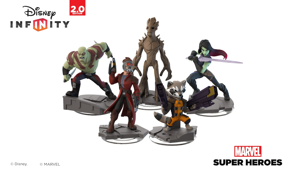 Disney Infinity 2 - Guardians Figures - Overview