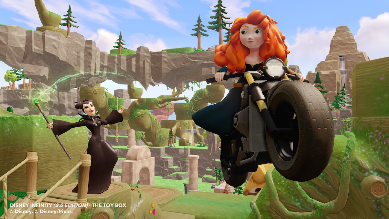 Disney Infinity 2 - Maleficent and Merida