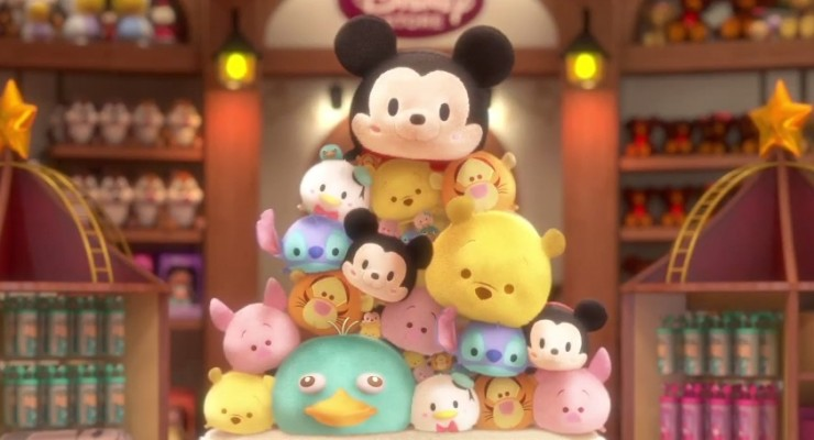 Adorable Disney Tsum Tsum Plush And App Arrive In The U.S.
