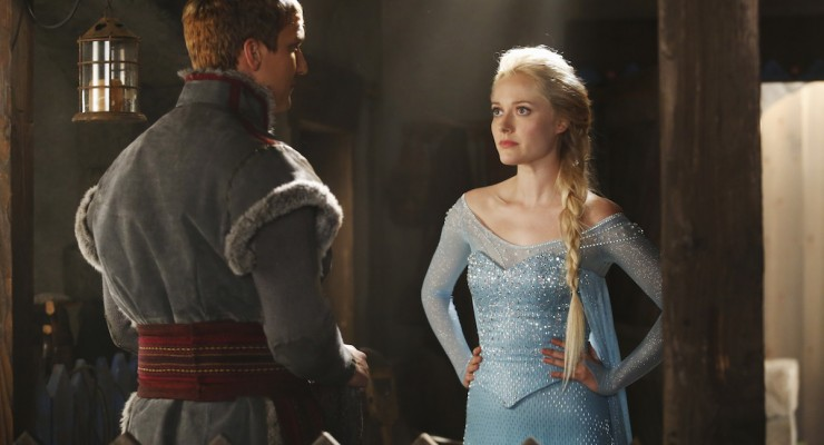 First Look: Elsa and Kristoff In 'Once Upon A Time'