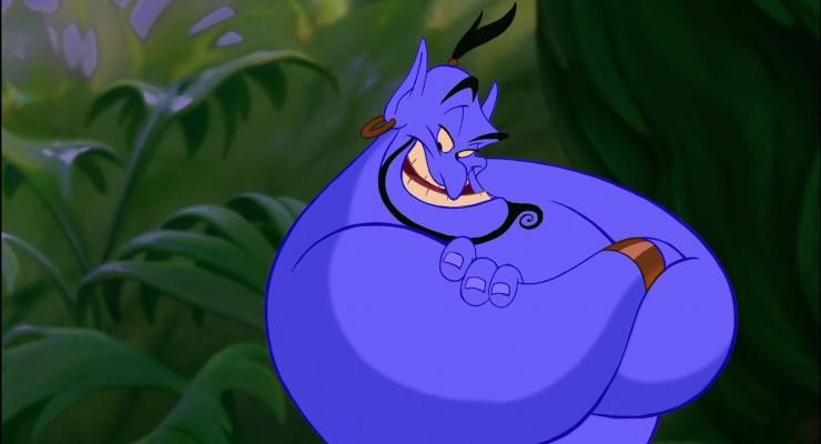 Aladdin - Genie Posing