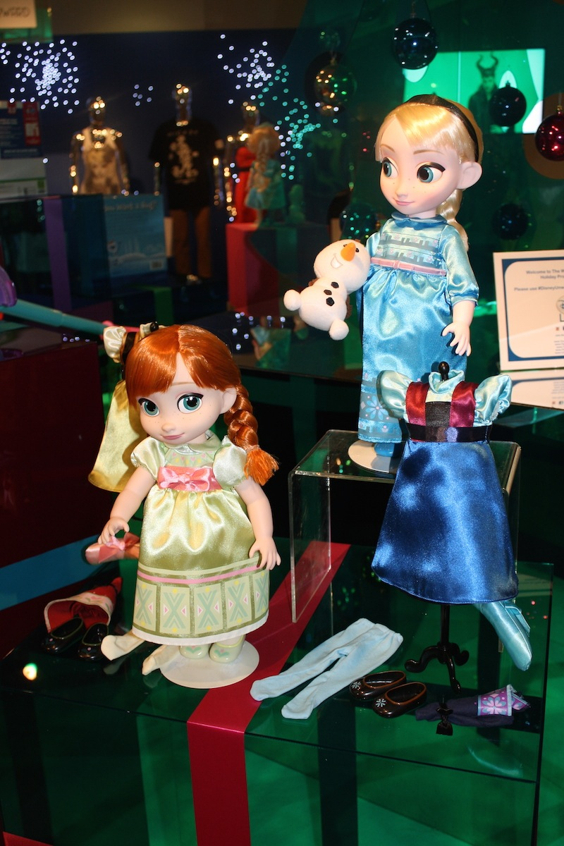 Frozen Animators' Collection Doll Gift Set ($99.95) available at the Disney Store in the Fall