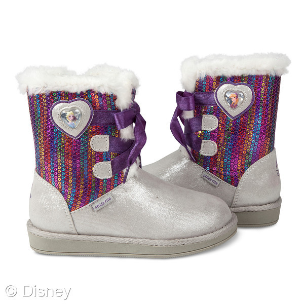 Anna and Elsa Stride Rite Cozy Boot ($48.00) available at Stride Rite in the Fall
