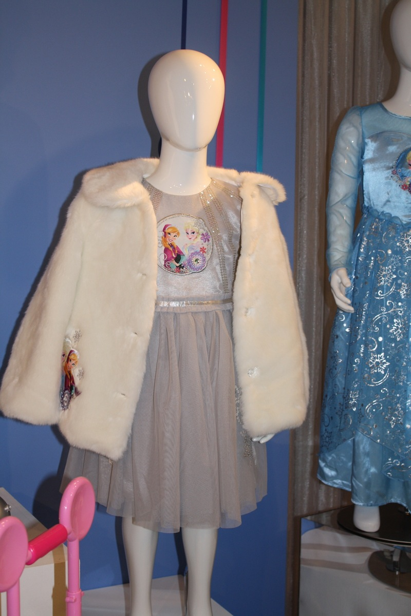 Deluxe Elsa Dress ($39.95) available at the Disney Store in September