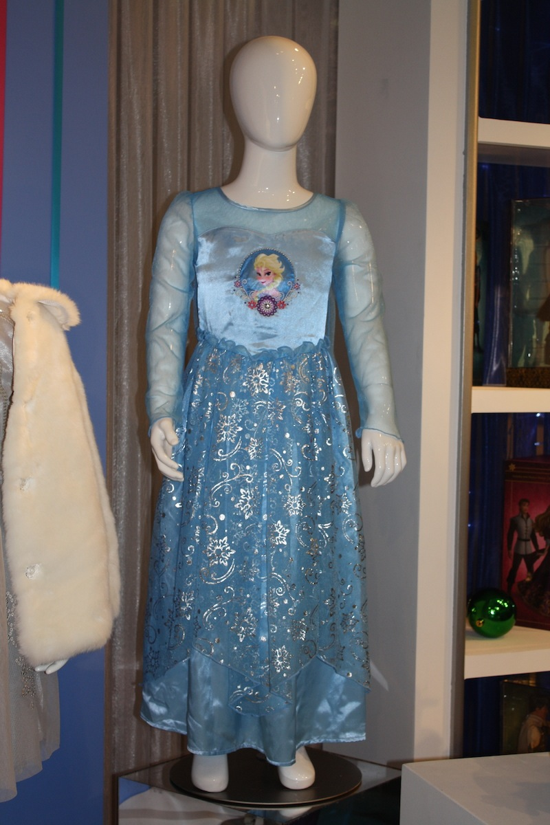 Elsa Deluxe Gown Sleepwear ($32.95) available at the Disney Store in September